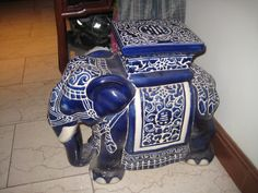 My grandpa used to have one of these ceramic elephant stools in his house (two & Elephant garden stool | Evelyn Gray | Pinterest | Stools and ... islam-shia.org