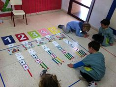 N/A Team Building Activities, Math Activities, Early Math, Yoga For Kids, Montessori, Classroom, Kids Rugs, Learning, Games