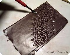 Cynthia Gordillo: Tutorial texturas caseras