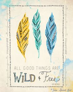 These free-spirited, modern bohemian illustrations from True Spirit Art speak to the flower child residing in us all. Spirit Art, Free Spirit, Celebrate Life Quotes, Free Prints, Wild And Free, Modern Bohemian, Illustration Art, Illustrations, Original Art
