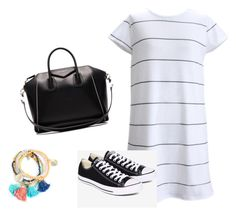 """""""Summer date"""" by newt1504 on Polyvore featuring Givenchy and Converse"""