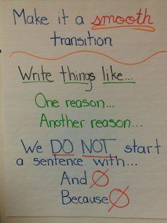 Elementary opinion writing