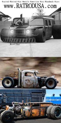 Custom Cars and Rat Rods RATROD 2017 RATROD 2018 #ratrod #hotrod #rat #muscle #american #usa #handmade #cars More projects: www.ratrodusa.com