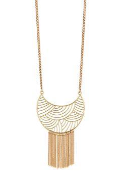 Large Tassel Necklace