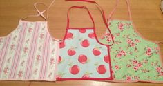 Toddler cotton aprons - The Supermums Craft Fair
