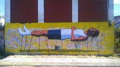 "Pincho, ""Calma tensa""in  Concepcion, Chile, 2016"