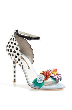 Though I can't imagine actually wearing these, they are just super cool to look at. Sophia Webster 'Lilico' Sandal
