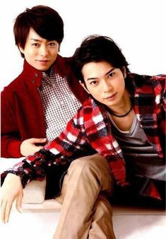 sho x jun J Pop Bands, You Are My Soul, Ninomiya Kazunari, Gorgeous Men, Actors, Cute, Image, Pairs, Anime