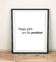 motivational wall decor teen girl print teen girl by GrafikShop