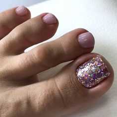 Pretty Toe Nails, Cute Toe Nails, Gorgeous Nails, Gel Toe Nails, Toe Nail Art, Manicure And Pedicure, Gel Toes, Acrylic Nails, Toe Nail Color