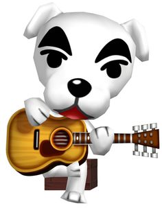 Animal Crossing City Folk - KK Slider's Song List (Must type song exactly as listed) Animal Crossing 3ds, Animal Crossing Villagers, City Folk, Fan Art, Fat Cats, New Leaf, My Animal, Cartoon Art, Sliders