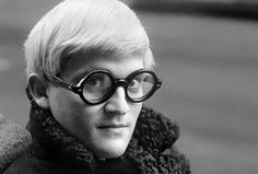 Hockney 1966 by Jane Bown