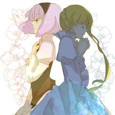 Aldnoah.Zero | Princess Asseylum & Princess Lemrina