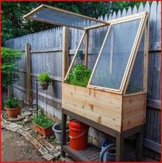 25 cute & simple herb garden ideas Raised garden bed great for older or handicapped gardeners or for those tiny special plants that otherwise are overlooked! The post 25 cute & simple herb garden ideas appeared first on Garden Ideas. Indoor Greenhouse, Greenhouse Gardening, Small Greenhouse, Greenhouse Ideas, Greenhouse Wedding, Herb Gardening, Diy Herb Garden, Vegetable Garden, Garden Plants