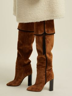 e6c271f2ff7 Chic   Luxurious Saint Laurent Meurice Boots