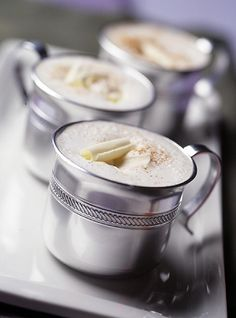 White Hot Chocolate - plus 22 other fun and warm drinks for the holidays!
