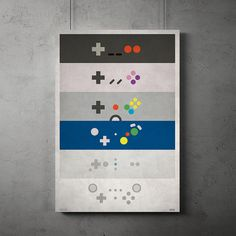 Controller Minimalist Posters All 4 Consoles by SBTRCTV on Etsy