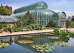 Palm House Brooklyn Botanic Garden  The Palm House, at the Brooklyn Botanic Garden.  photo credit: Ian Dewar