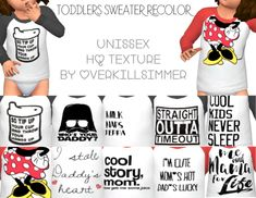 Toddlers Sweater Recolor by VERKILLSIMMER