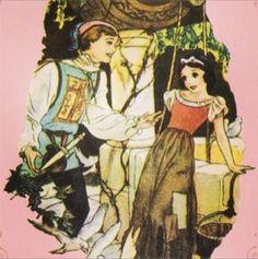 Disney Concept Art - Snow White and Prince Ferdinand. Beautiful!