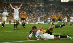 That try. Jason Robinson v Australia. RWC Final. September 2003.