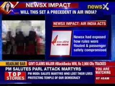 NewsX impact: Air India's 'party' officer shunted #NewsX #BreakingOnNewsX