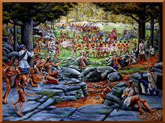 Braddock's Defeat at Monongahela