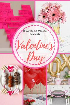 Here are 10 amazing ideas to help you celebrate Valentine's Day.  They are easy, thoughtful, won't break the bank, and are sure to make that special someone feel loved.