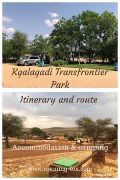 Route and Itinerary to Kgalagadi Transfrontier Park. Includes accommodation, camping, coffee shops and road side stalls. #accommodation #camping #selfcatering #route #Johannesburg #Kgalagadi #NorthernCape #itinerary Travel Around The World, Around The Worlds, Middle Island, Road Trip Hacks, Game Reserve, The Dunes, Africa Travel, South Africa, Travel Inspiration