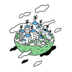 Works | Ryo Kaneyasu 金安 亮 | Creator | Illustration | Japan | ubies Cake Illustration, Graphic Illustration, Line Art, Concept Art, Character Design, Symbols, Graphic Design, Artwork, Anime