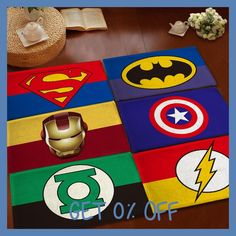 Kids/Children Superhero Cartoon Carpets Modern Rugs And Carpets For Home Living Room Infantiles Alfombras Dormitorio De Sala