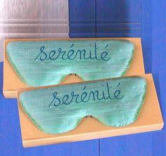 Eye Pillow / Eye Mask . Birthday Gift . by EstelleBillot on Etsy