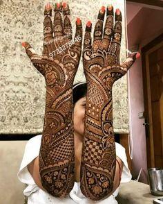 📌 hajra:::::: mahendi design occasion design for A bride
