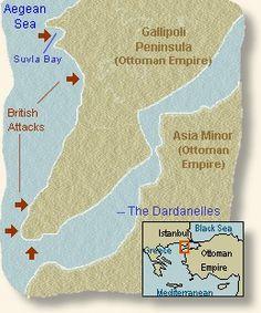 Battle At Gallipoli, 1915