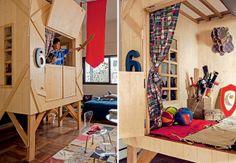 Cabana do pirata para a criançada!! Arq. Vivian Wipfli