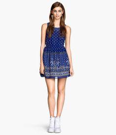 H&M Vestido estampado $199