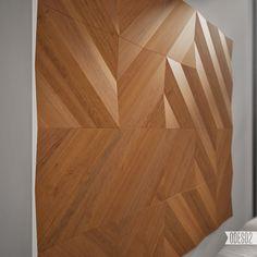 P3 wall panels by ODESD2 design bureau, via Behance
