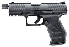 Walther's tactical PPQ M2 SD .22 is the best of both worlds, combining the smooth-shooting, ergonomically-enhanced components of the PPQ with the fun and cost savings of 22 rimfire. This pistol has a