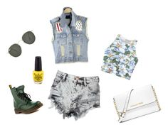 A fashion look from July 2015 featuring print crop tops, denim waistcoat and distressed high waisted shorts. Browse and shop related looks. Denim Waistcoat, Distressed High Waisted Shorts, Short Waist, Fashion Looks, Crop Tops, Polyvore, Shopping, Blue Jean Vest, Cropped Tops