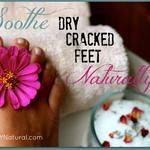 DIY Cracked Heels Remedies ~ Dry Cracked Feet Can Be Soothed Naturally in 3 Easy Steps : Dry, cracked feet can drive you crazy! But worry no longer - you can soothe them fast and naturally using these homemade foot scrub and foot cream recipes. Homemade Foot Cream, Homemade Scrub, Homemade Facials, Listerine Foot Soak, Foot Soak Recipe, Dry Cracked Feet, Homemade Beauty Products, Lush Products, Natural Products