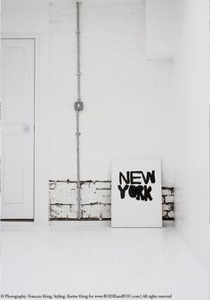 My perfectly imperfect wall | OUR RENOVATIONS (via Bloglovin.com )