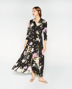 FLORAL PRINT DRESS-DRESSES-WOMAN | ZARA United Kingdom