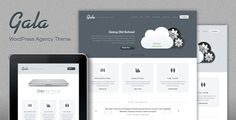 A design theme from ThemeForest  http://bit.ly/ycOJQ1