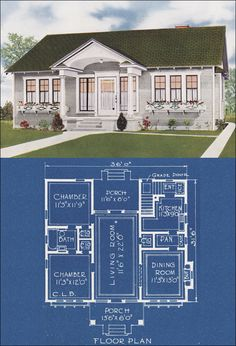 c. 1921 American Homes Beautiful by C. L. Bowes Co.