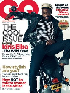 Idris Elba cover British GQ and does it very well…ladies settle down and yes we did this post just for you. Check out the exerts: