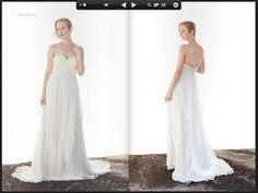 wedding gown. from Ivy & Aster.