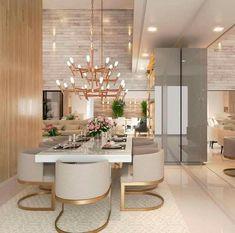 Dining Room Table Decor, Dining Room Design, Room Decor, Dining Rooms, Luxury Dining Room, Elegant Dining Room, House Paint Interior, Interior Design, Room Interior