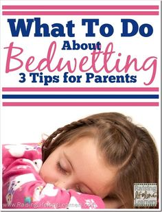 As an adult, I know that bedwetting is common, but, for a kid… it's humiliating and frustrating. How do we, as parents, help them?