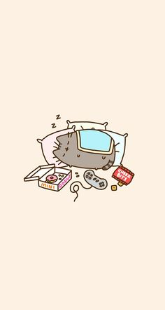#pusheen #wallpaper #phone