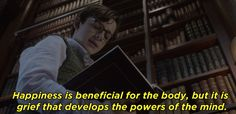 """From the first few minutes of A Series of Unfortunate Events, the Netflix show is filled with books and literary references, like when Klaus recites this Proust quote. 